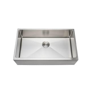 ... Gauge Handcrafted Single Bowl Undermount Stainless Steel Kitchen Sink