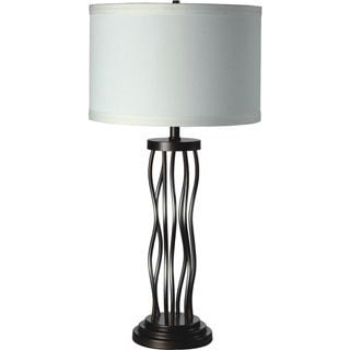 Metal Curves Table Lamp