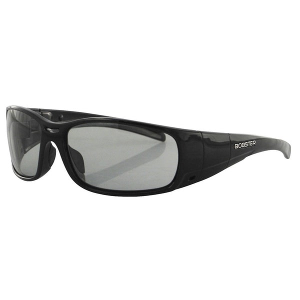 Bobster Black Frame Gunner Convertible Wrap Sunglasses