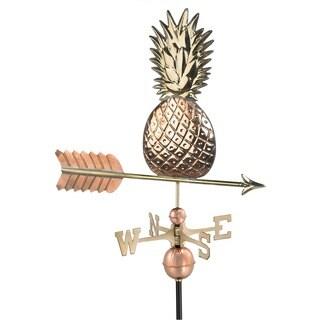 Polished Copper Pineapple Weathervane