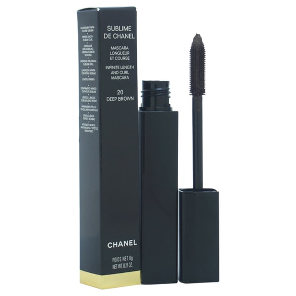 Sublime De Chanel Mascara - # 20 Deep Brown by Chanel for Women - 0.21 oz Mascara