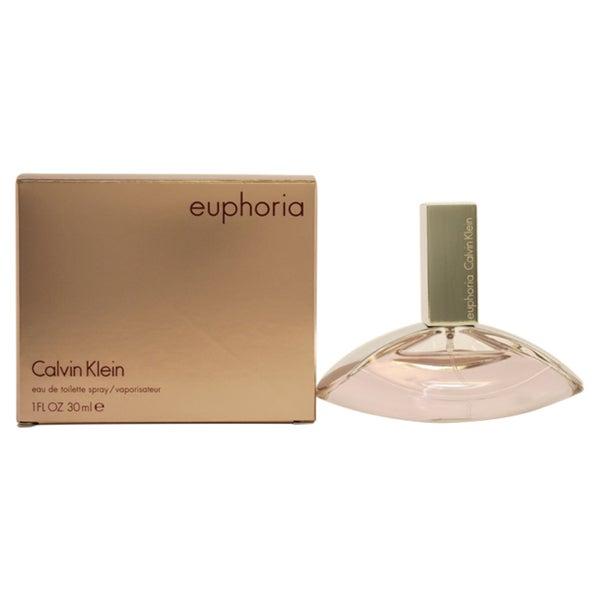 Calvin Klein Euphoria Women's 1-ounce Eau de Toilette Spray