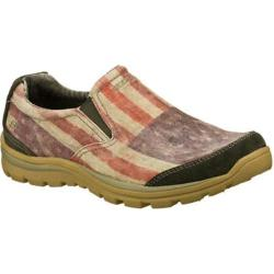 Men's Skechers Relaxed Fit Superior Breno Blue/Multi