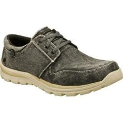 Men's Skechers Relaxed Fit Superior Elvin Black