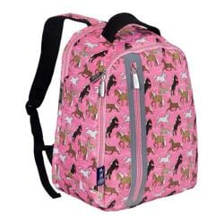 Girls' Wildkin Echo Backpack Horses in Pink