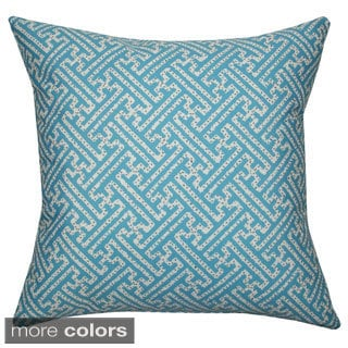 Maze Outdoor Pillow