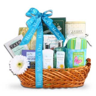 Alder Creek Gift Baskets Mother's Day Spa and Sweets Gift Basket