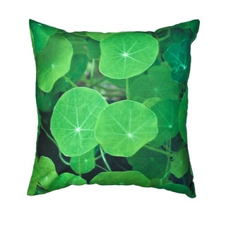 Lily Pad Outdoor Pillow