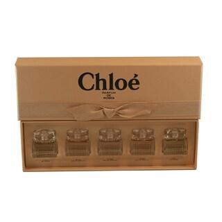 Chloe Parfum de Roses Miniatures Collection Women's 5-piece Mini Gift Set
