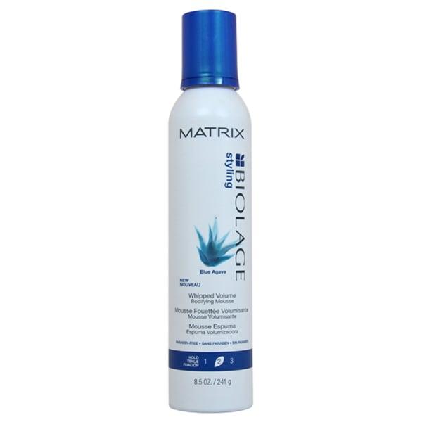 Matrix Biolage Styling Blue Agave Whipped Volume Bodifying 8.5-ounce Mousse