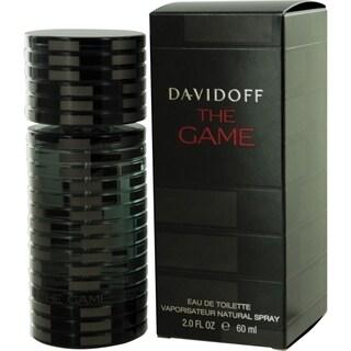 Davidoff 'The Game' Men's 2-ounce Eau de toilette Spray