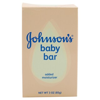 Johnson's Baby 3-ounce Bar Soap