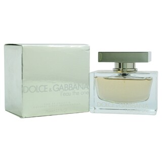 Dolce & Gabbana Leau The One Women's 2.5-ounce Eau de Toilette Spray (Unboxed)