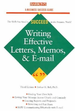 Writing Effective Letters, Memos, and E-Mails (Paperback)