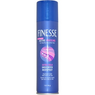 Finesse Self Adjusting Extra Hold Unscented 7-ounce Hair Spray