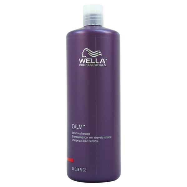 Calm Sensitive Shampoo by Wella for Unisex 33.8-ounce Shampoo