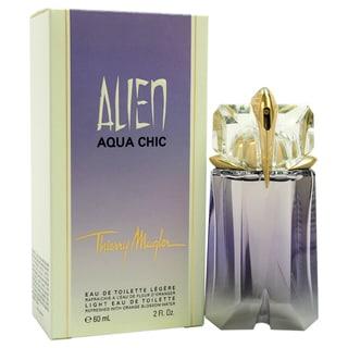Thierry Mugler 'Alien Aqua Chic' Women's 2-ounce Light Eau de Toilette Spray