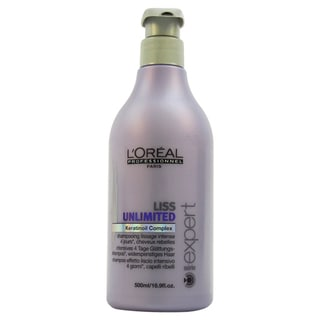 L'Oreal Professional Liss Unlimited Keratinoil Complex 16.9-ounce Shampoo