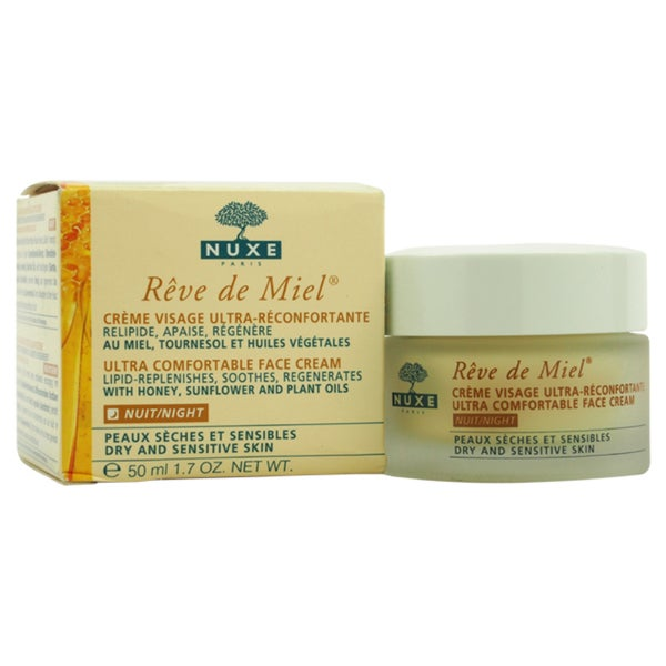 Nuxe Reve De Miel - Ultra Comfortable Face Night Cream
