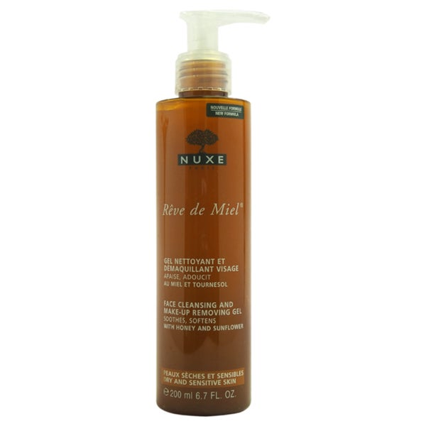 Nuxe Reve de Miel - Face Cleansing and Make-Up Removing Gel