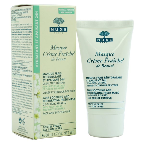 Nuxe Masque Creme Fraiche de Beaute 24-hour Soothing And Rehydrating Fresh Mask