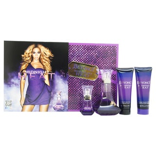 Beyonce Midnight Heat Women's 4-piece Gift Set