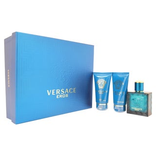 Versace Eros by Versace for Men 3-piece Gift Set