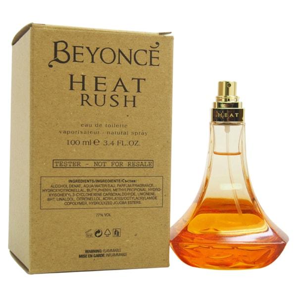 Beyonce Heat Rush Women's 3.4-ounce Eau de Toilette Spray (Tester)