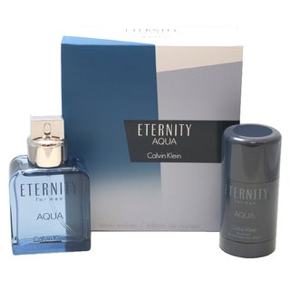 Calvin Klein Eternity Aqua Men's 2-piece Gift Set