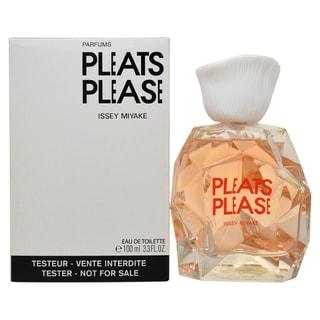 Issey Miyake Pleats Please Women's 3.3-ounce Eau de Toilette Spray (Tester)