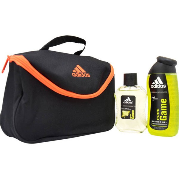 Adidas Pure Game 3-piece Gift Set