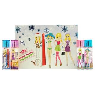 Paris Hilton Passport Variety for Women 4-piece Mini Gift Set