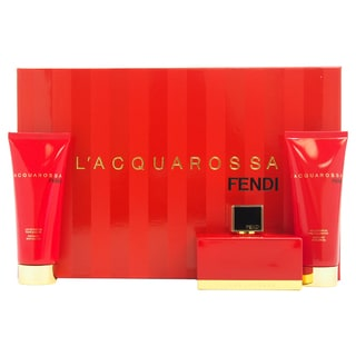 Fendi L'Acquarossa Women's 3-piece Gift Set