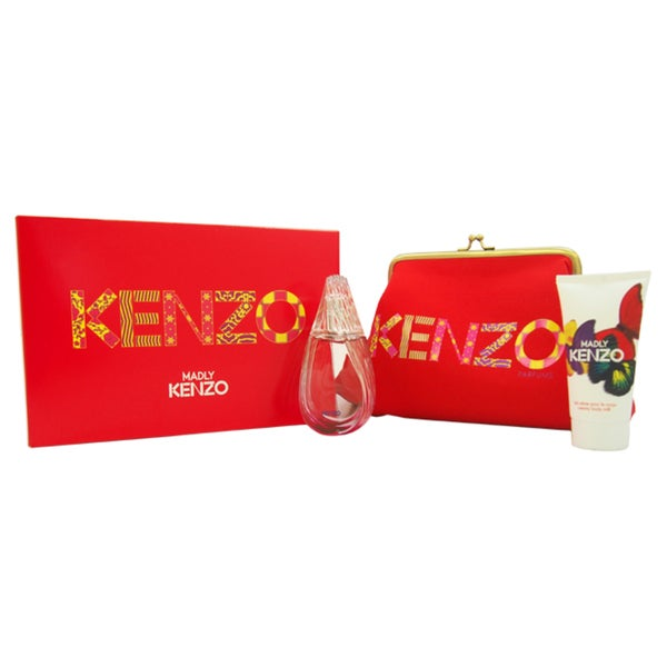 Kenzo Madly Women's 3-piece Gift Set