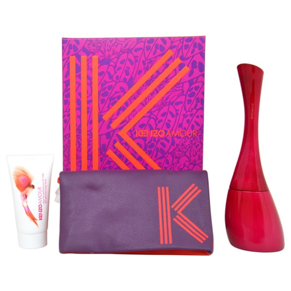 Kenzo Amour Women's 3-piece Gift Set