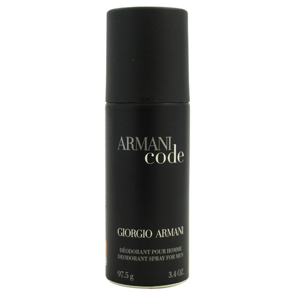 Giorgio Armani Code Men's 3.4-ounce Deodorant Spray