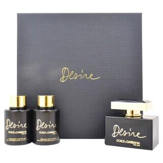 Dolce & Gabbana The One Desire Women's 3-piece Gift Set