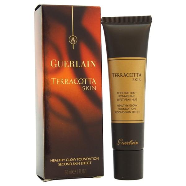Guerlain Terracotta Skin Healthy Glow Foundation Second Skin Effect