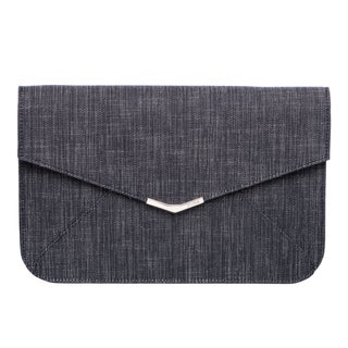 Fendi 8M0312 00N77 F0ML3 2Jours Denim Clutch