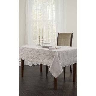 Silver Chagall Spillproof Tablecloth