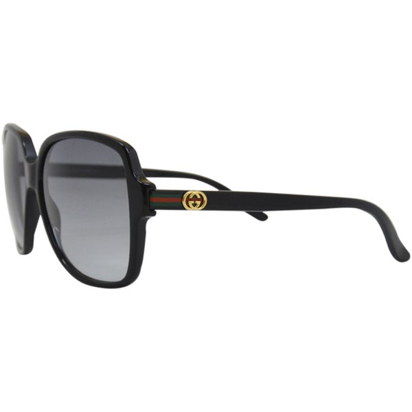GG 3582/S 807-Black/Grey Shaded by Gucci for Women - 57-14-140 mm Sunglasses