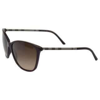 BE 4117 326513 Eggplant Brown Gradient by Burberry for Women - 58-14-140 mm Sunglasses