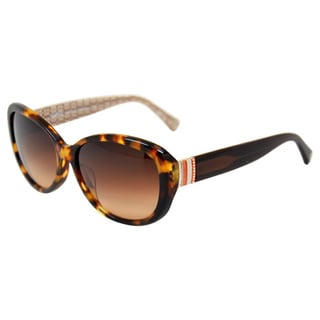 Keri HC8040BF Spotty Tortoise by Coach for Women - 58-15-140 mm Sunglasses