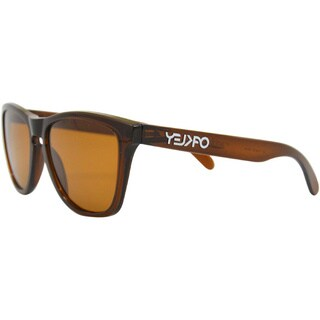 24-303 Frogskins - Polished Rootbeer/Bronze by Oakley for Men - 55-17-133 mm Sunglasses