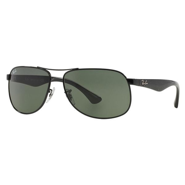 RB 3502 Pilot 61 Black by Ray Ban for Men - 61-14-135 Sunglasses
