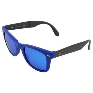 Ray-Ban Men's 4105 Folding Wayfarer 50-22 Sunglasses