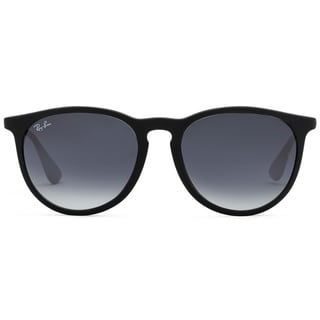 Ray-Ban Erika Classic RB 4171 Women's Black Frame Grey Gradient Lens Sunglasses