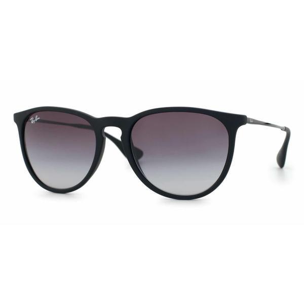 Ray-Ban Erika Classic RB 4171 Women's Black Frame Grey Gradient Lens Sunglasses 12888146
