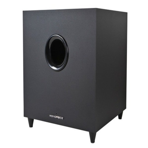Premium Home Theater Black Subwoofer