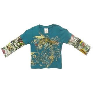 Ed Hardy Baby Double Sleeve T-Shirt